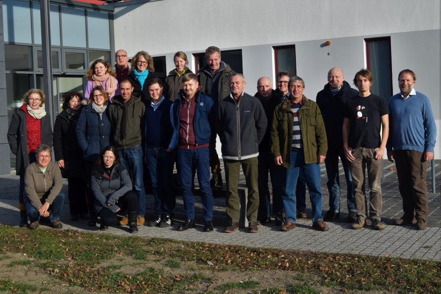 Die Mitarbeiter des Projekts beim gemeinsamen Workshop am 28 / 29.11.2018 in Eilenburg