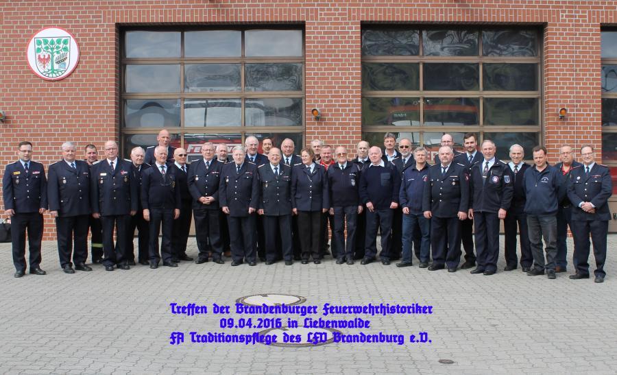 Feuerwehr Gruppenbild
