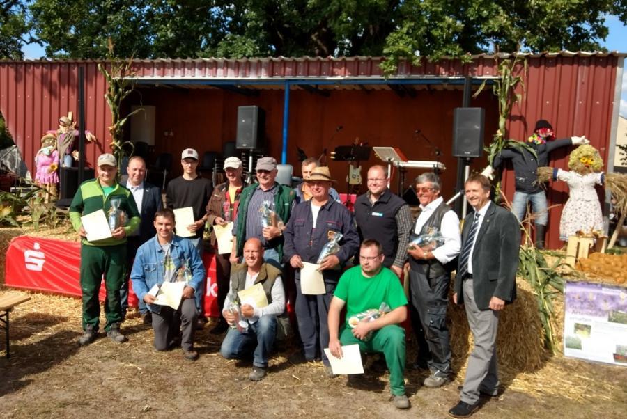 Teilnehmer Kreisleistungspflügen 2017