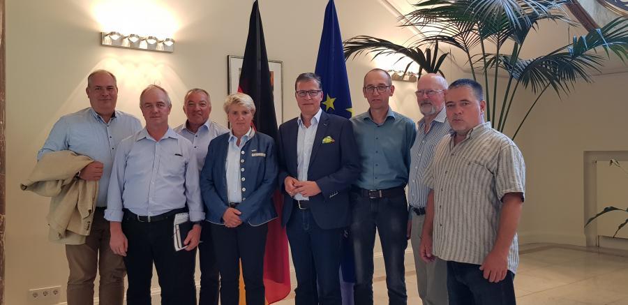 Uckermärker Landwirte zu Besuch im Bundeslandwirtschaftsministerium