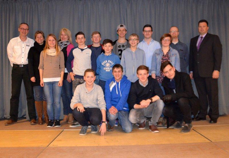 Gruppenfoto Jugendrat 2015-2017