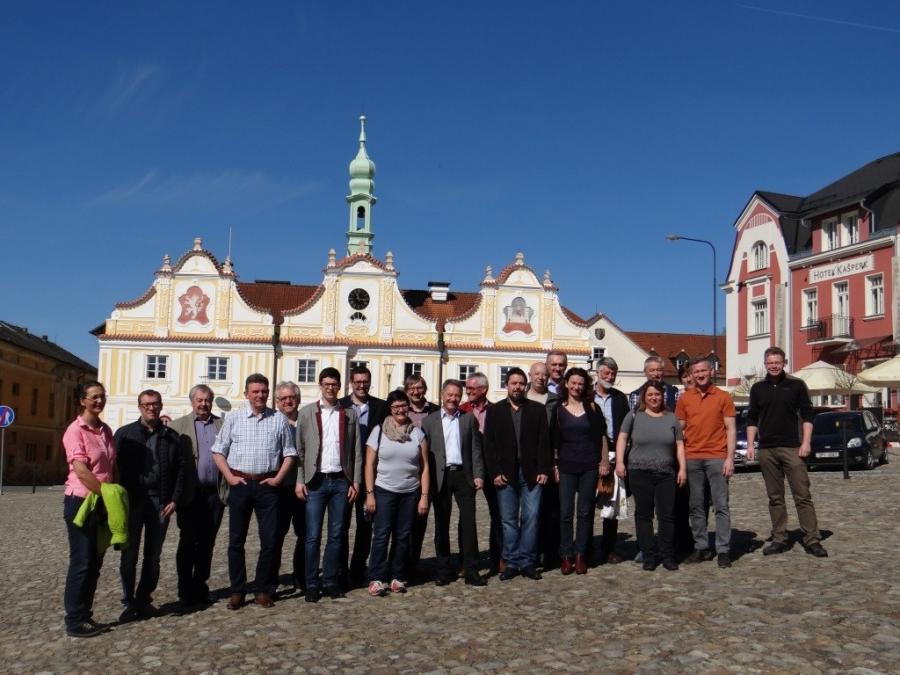 Gemeinsames Treffen in Kasperské Hory