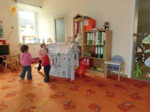 Gruppenraum der Krippenkinder