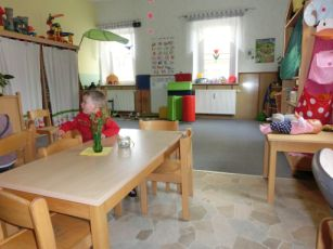 Gruppenzimmer der großen Kinder