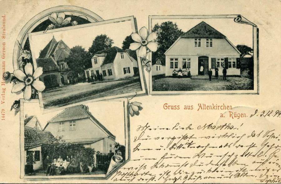 Gruss aus Altenkirchen a. Rügen