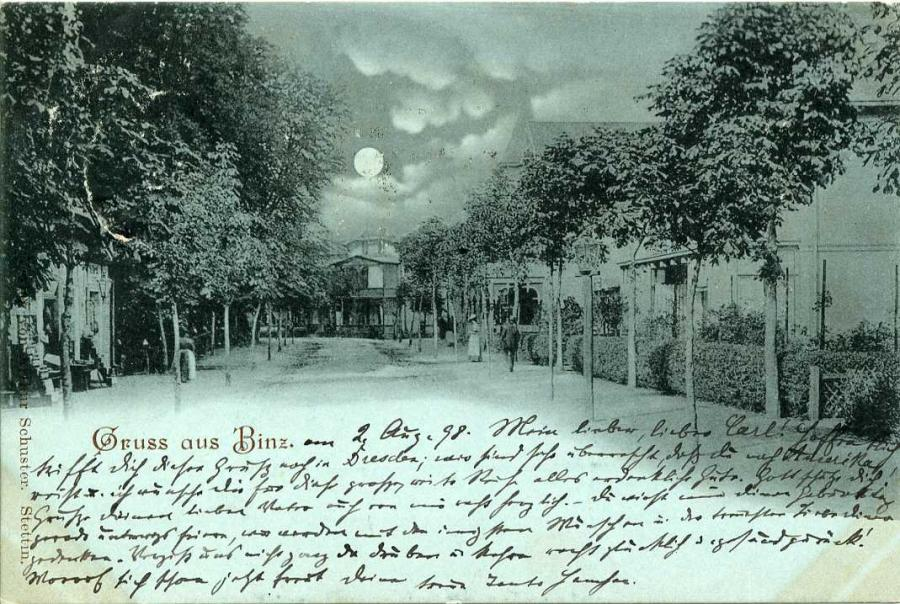Gruss aus Binz 1898