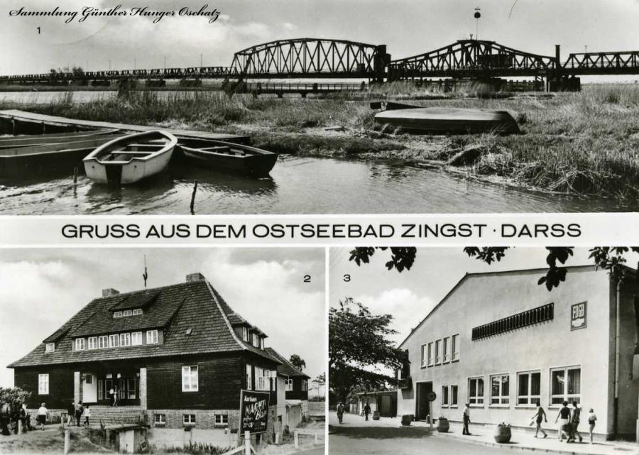 Gruss aus dem Ostseebad Zingst-Darss Meiningenbrücke