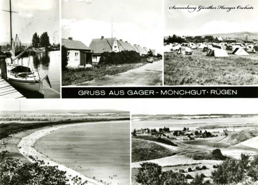 Gruss aus Gager Mönchgut Rügen