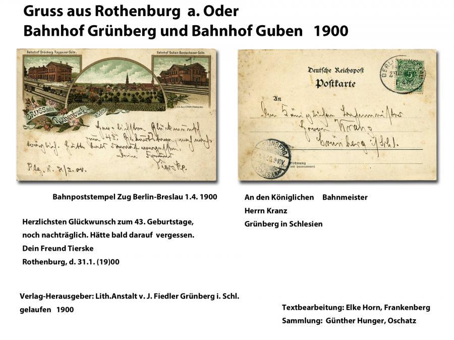 Gruss aus Rothenburg 1900