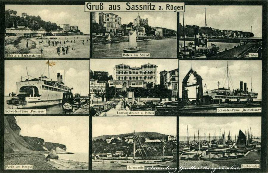 Gruß aus Sassnitz a. Rügen