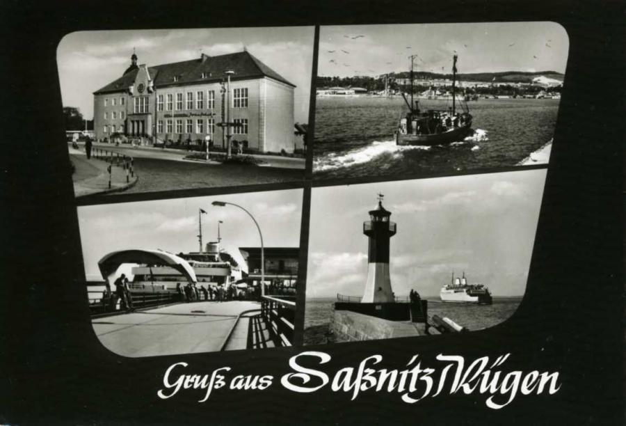 Gruß aus Saßnitz/Rügen 1962