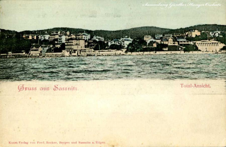 Gruss aus Sassnitz Total-Ansicht