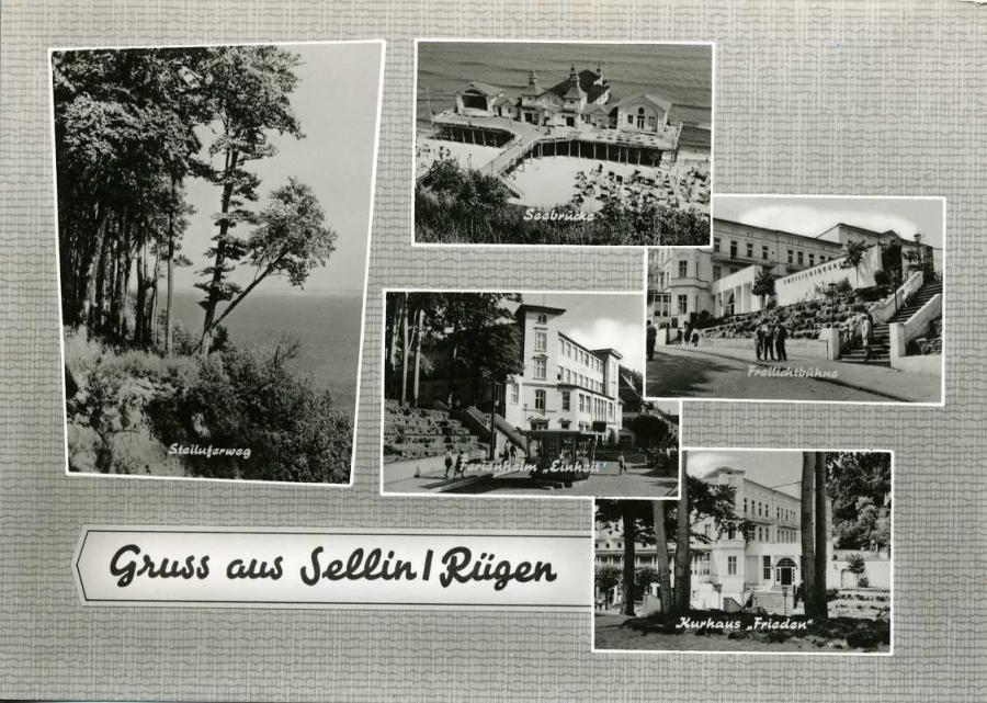 Gruss aus Sellin / Rügen 1965