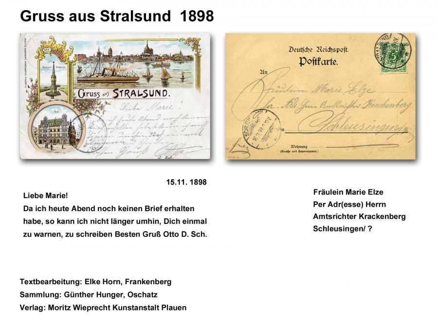 Gruss aus Stralsund 1898 2