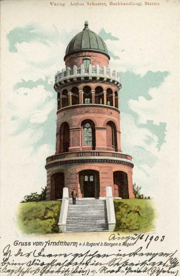 Gruss vom Arndtthurm 1903