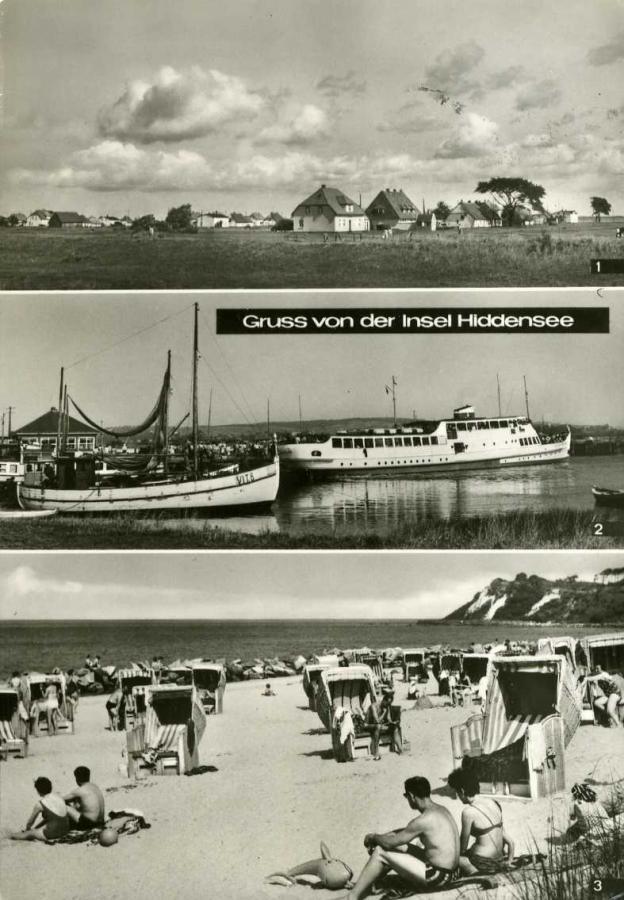 Gruß von der Insel Hiddensee