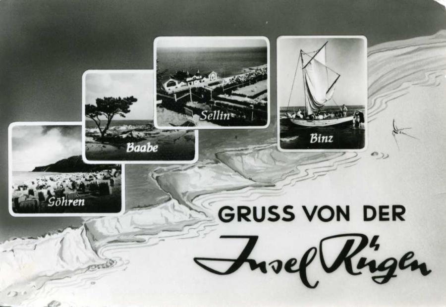 Gruß von der Insel Rügen 1958