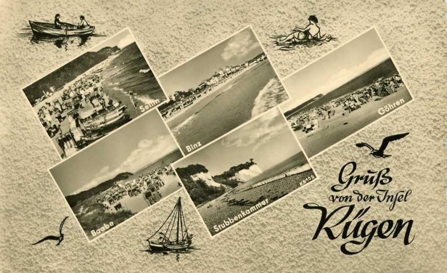 Gruß von der Insel Rügen 1959