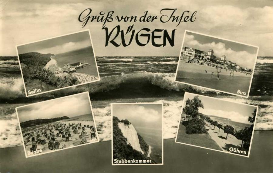 Gruß von der Insel Rügen 1962