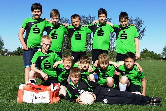 Jugend trainiert für Olympia - Kreisfinale Fußball 2015