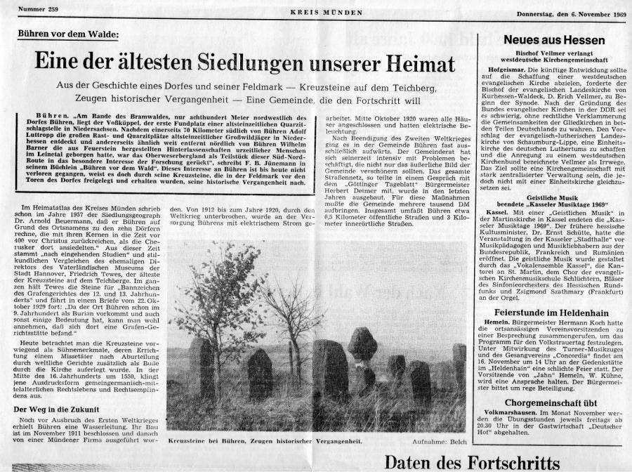 Bericht Göttinger Tageblatt Tei I