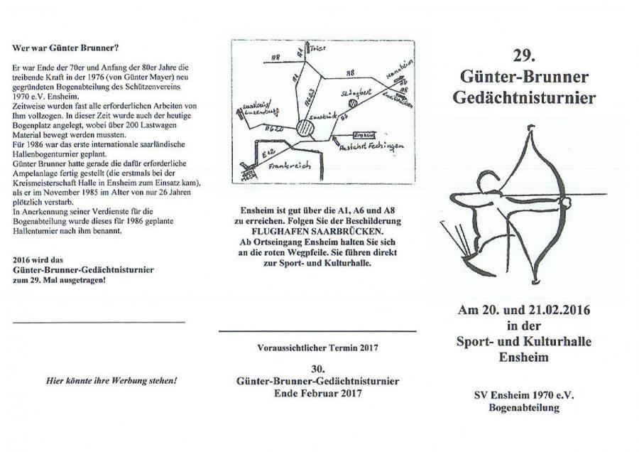 Günter Brunner Turnier 2016