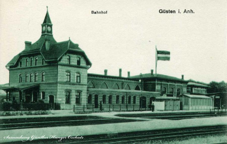 Güsten i. Anh. Bahnhof