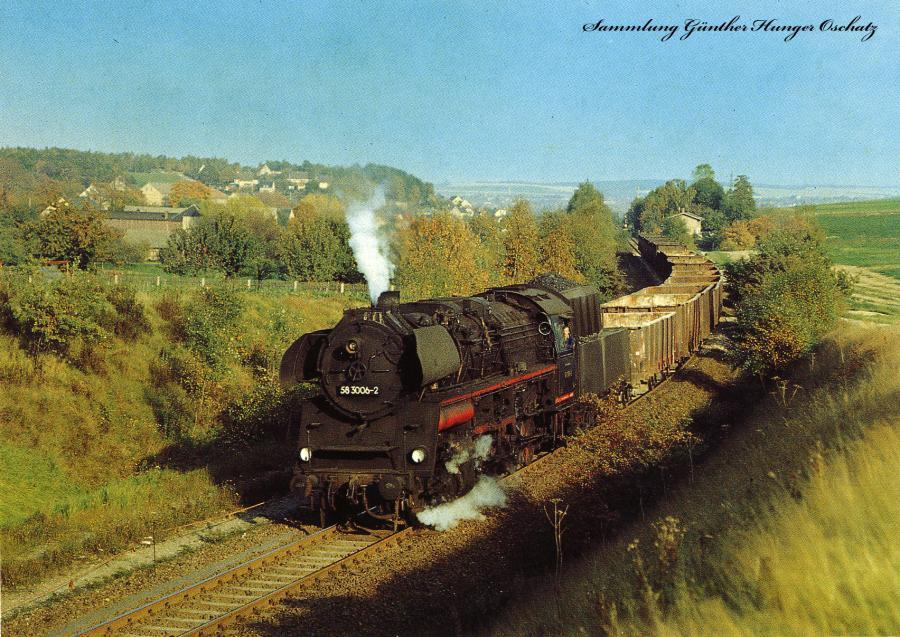 Güterzug-Dampflokomotive 58 3006