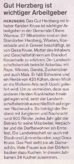 Gut Herzberg - SVZ
