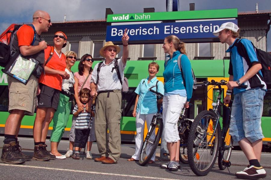 Mit der Gästekarte kostenlos unterwegs mit Bus und Bahn