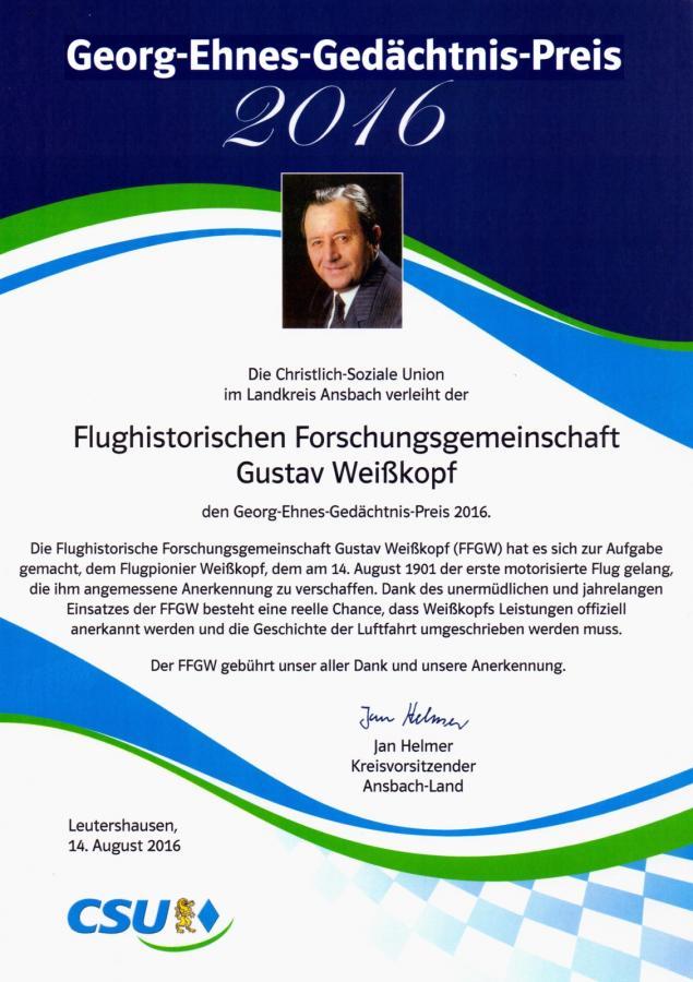 Georg-Ehnes-Preis