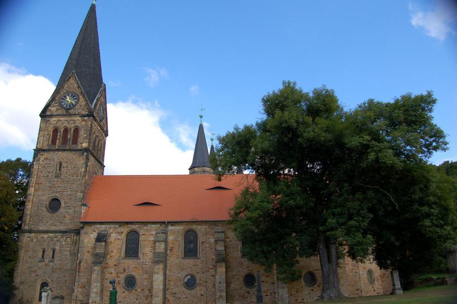 evangelische Kirche St. Petri Hamersleben