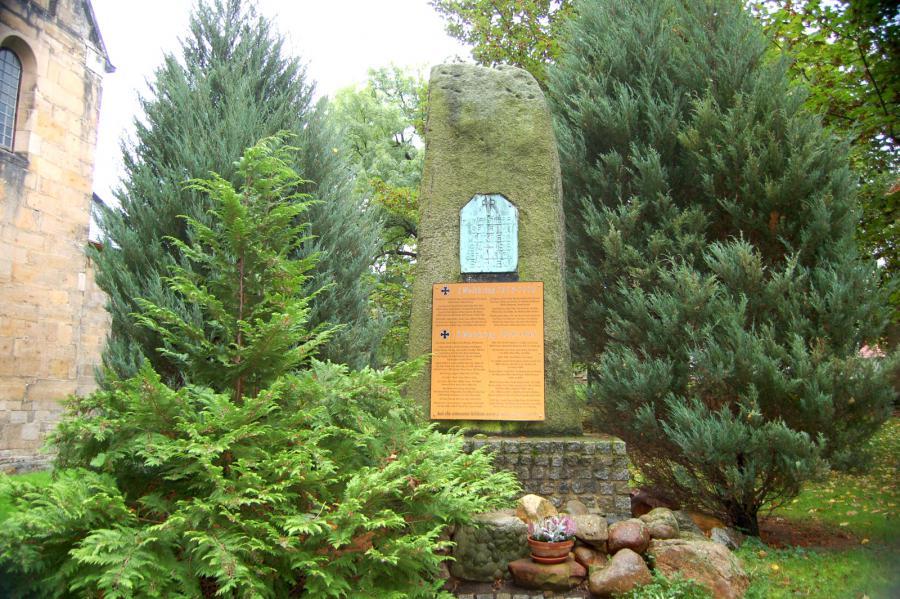 Weltkriegsopfer-Denkmal Hamersleben