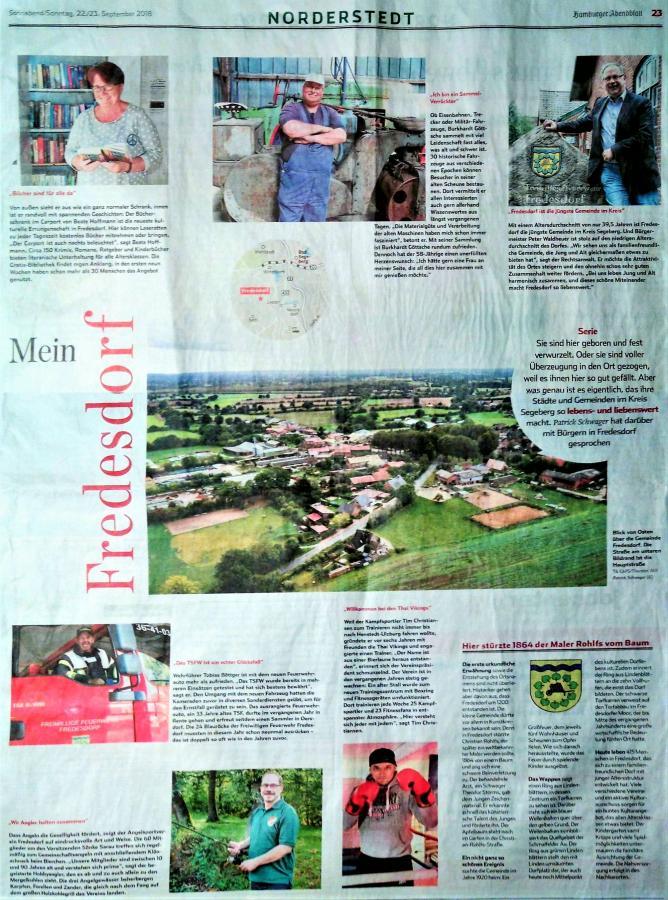 Hamburger Abendblatt vom 22.09.2018