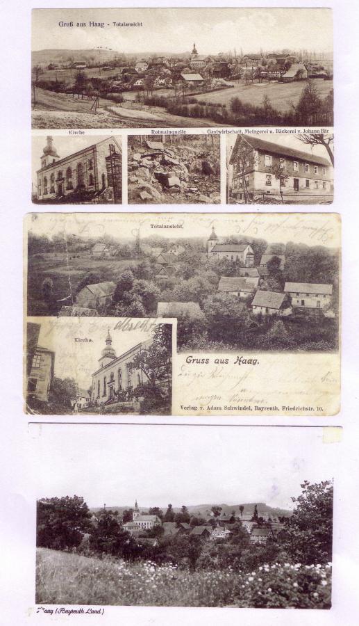 Haag alte Ansicht