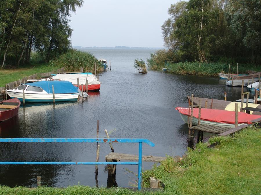 Haff und Wiesen Hafen