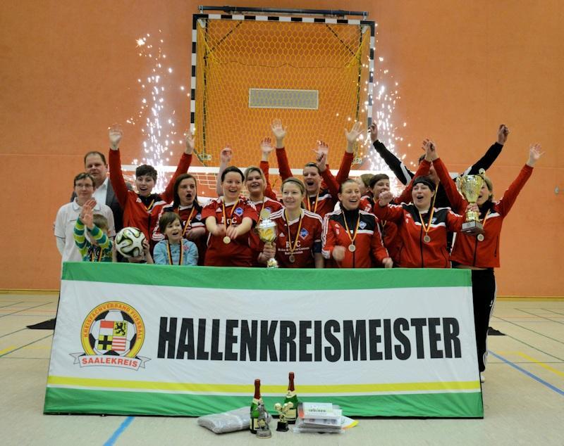 Hallenkreismeister Frauen 2015