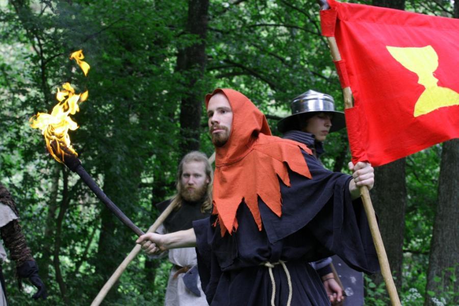 Die Festspiele - jedes Jahr ein kulturelle Highlight in Bodenwöhr! Quelle: Eisenzeit e.V.