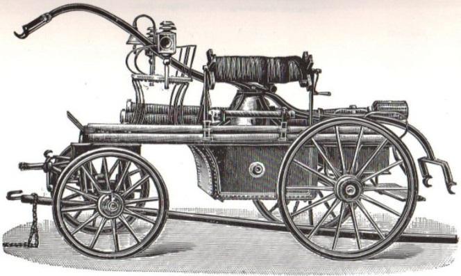 Handdruckspritze ca. 1890