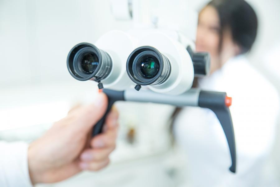Handmikroskop