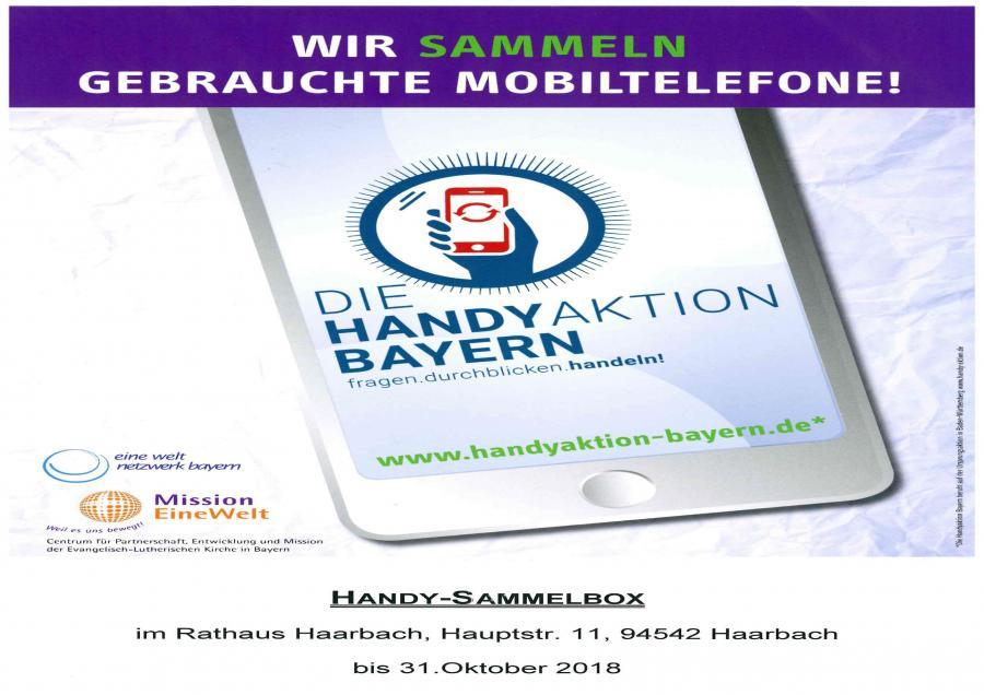 Handy-Sammelaktion