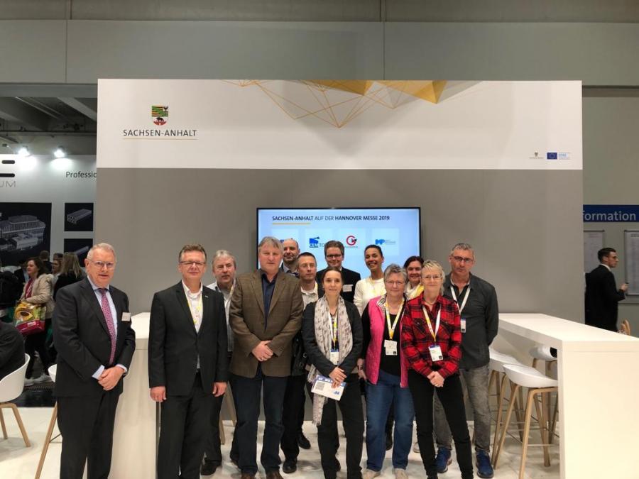 Besuch der Hannover Messe mit Internationalen Partnern, 03.04.2019