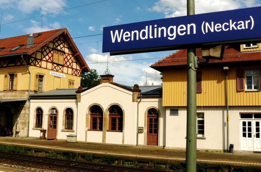 Bahnhof von Wendlingen am Neckar