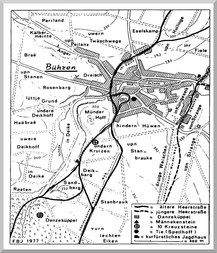 Harster Heerweg Karte Bühren