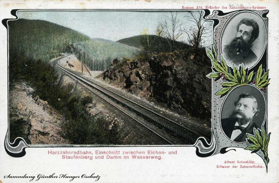 Harzzahnradbahn  Erbauer Albert Schneider