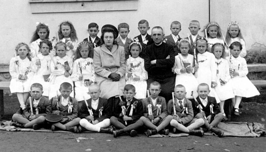Erstkommunion 14.5.1942 in Unterturz