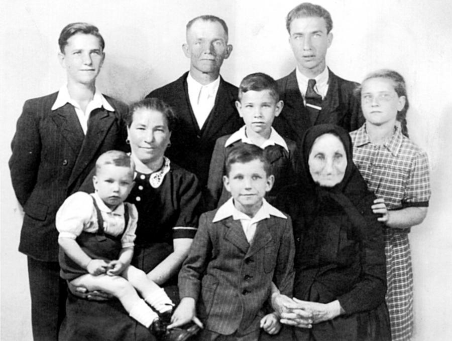 Familie Ulbricht 1952