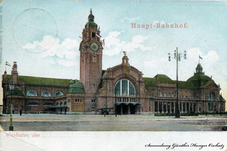 Haupt-Bahnhof Wiesbaden