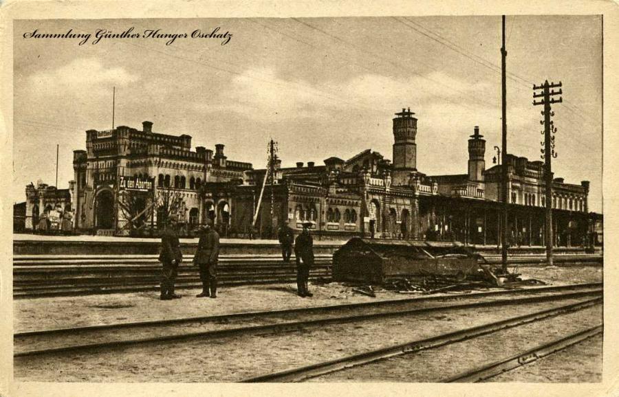 Hauptbahnhof Seitenansicht