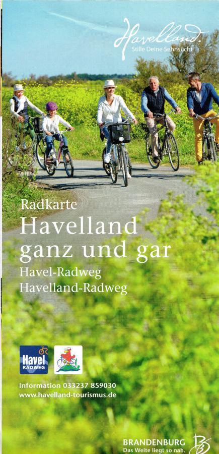 Radkarte Havelland ganz und gar